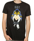 League of Legends Dat Ashe Black Men's T-Shirt Anime Licensed NEW