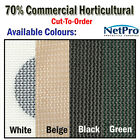 4m Shade Cloth 70% Commercial Grade Shadecloth 200gsm - Cut To Order - POSTED