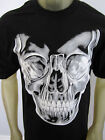 Skull Punisher Skeleton X-Ray evil biker tee shirt men's black choose A size