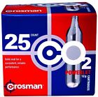 CO2 Cartridge 12 Gram Crosman CO2 Cartridges Gun Gas Pellet Airsoft