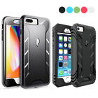 For iPhone 7 Plus / 7 / SE Premium Rugged Complete Protection Hybrid Case