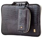 Laptop bag case Pattern of Crocodile Anti-shock memory foam strap small pouch