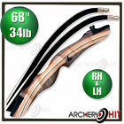 Wooden Recurve Bow 68 Inch Archery Package