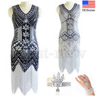 Luxury 1920s Flapper Dresses Great Gatsby Prom Gown Cocktail Evening Party Dress
