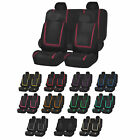 Auto Seat Covers for Car Sedan Truck Van Universal Seat Covers 12 Colors $21.99 USD