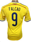 ORIGINAL WORLD CUP 2014 COLOMBIA HOME SOCCER JERSEY FALCAO #9