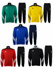 Kids Adidas Tracksuit Full Zip Bottoms Top Boys Junior Sports Tracksuits Size