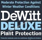 DeWitt Deluxe 10' Wide X Any Length .5oz Frost Freeze Plant & Seed Guard Blanket