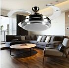 NEW Dimming LED invisible ceiling light fan light restaurant fan chandelier lamp