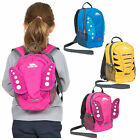 Trespass Tiddler Boys & Girls Nursery Backpack with Safety Rein Kids School Bag