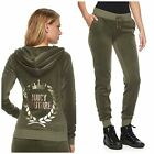 NWT JUICY COUTURE Tracksuit Velour Embellished Jacket Jogger Pants  S M L