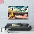 Canvas print wall art big poster LONDON Big Ben uk Elizabeth Tower skyline decor