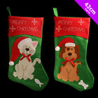 Cat or Dog Stocking - Merry Christmas Pet Presents Gifts Xmas