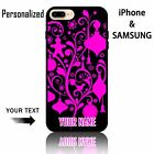 personalized your text nice gaily bright pink christmas pattern Phone Case Gift