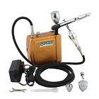 OPHIR 12V DC Battery Mini Air Compressor for Airbrushing Hobby Cosmetics Tattoo