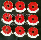 New Bulk Lots Banquet Enamel Remembrance Gifts Poppy Brooches Pin Broach Badge