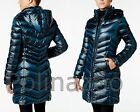 Calvin Klein Winter jacket Hooded Down Puffer Coat Pearlized Black or Blue Teal