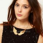 Jewelry Women's Lady Necklace Collarbone Angel Wing Gold Short Fashion Pendant