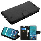 For LG G Stylo 2 PLUS Phone Leather Wallet Case Cover Protective Pouch Stand