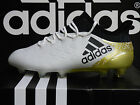 NEW AUTHENTIC ADIDAS X 16.1 Firm Ground Men's Soccer Cleats- White/Gold; S81944