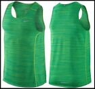 M &XL Nike Dry Miler Reflective Cool Relay Running Tank DriFIT Layering Training