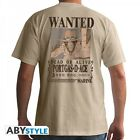 """One Piece T-Shirt """"Wanted Ace - beige"""""""