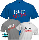 LIMITED EDITION 1947 - T Shirt, 70th BIRTHDAY (2017), Fun, Present, Gift, NEW
