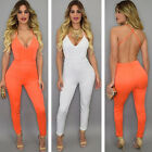 Q101   Hot Style Tight Jumpsuits Female Backles Condole Belt