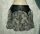 NEW SPIN DOCTOR STEAMPUNK FLARE SKIRT GOTH PUNK BOHO US SELLER DR HELL BUNNY