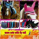 Rhinegold wave elite Saddle Pad cloth numnah ONLY  all sizes  bright colours