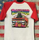 Vintage '68 Rats Hole Original Plymouth Roadrunner on baseball 3/4 sleeve RARE
