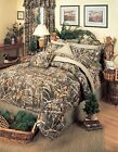 Realtree® Max 4  Camo Simple Comforter Sets - Rustic Cabin Lodge Hunters Camo