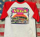 Vintage '75 Rats Hole Original Vega Ford Eater transfer on baseball 3/4 sleeve