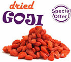 200g - 500g DRIED GOJI BERRIES (7oz - 17.6oz) NATURAL WOLFBERRY LYCIUM FREE 1LB