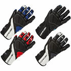 New Spada Motorcycle Bike Mens Burnout Double Leather Riding Gloves Size S-XXL