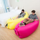 New Fast Inflatable Air Bag Outdoor Hangout Beach Camping Sleeping Lazy Bed Sofa