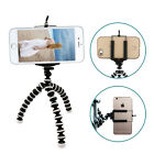 Cell Phone Clip Stand Holder Mount +Mini Octopus Tripod Camera Support Adapter