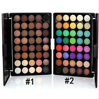 40 Colour Eye Shadow Makeup Cosmetic Shimmer Matte Eyeshadow Palette Set Tool BS