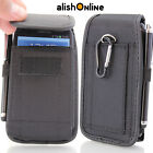 sony mobile xperia j - Universal Nylon Belt Pouch Case Cover Holster Bag for iPhone Samsung all Mobiles
