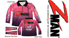 Zman PINK GIRLS KIDS Tournament Fishing Shirt Z-man NEW WITH TAGS Z Man teen