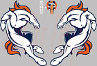 "Denver Broncos Logo (!!Set of TWO!!) Sticker Decal Car 4""-12"" Full Color DBLS2P on eBay"