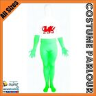 Mens Womens Olympics Suits Zentai Wales Welsh Flag Suit Fancy Dress Costume