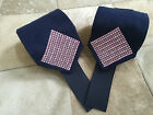 Custom Polo Wraps Navy with Pastel Pink Bling Horse or Pony Sizes