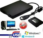 LOT 2 1.44MB 3.5 Inch USB External Floppy Disk Drive Diskette FDD for Laptop OY