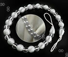 75cm Crystal Beads Curtain Rope Earl Tie Back Tiebacks Curtain Hold Back 6 Color