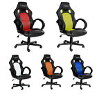 Merax Ergonomic High Back Racing Style PU Leather&Mesh Office Home Gaming Chair