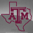 "Texas A&M Aggies State Vinyl Decal Sticker - 4"" and Up"