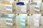 REVERSIBLE SETS BABY BEDDING SET COT COT BED - COVERS, BUMPER, CANOPY+MORE