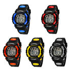 Kids Child Boy girl NEW GIFT Led Date Digital Sport Quartz Wrist Watch + GIFT
