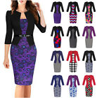 Lot Styles Women's Office Bodycon Pencil Dress Evening Party Cocktail Dress Sets
